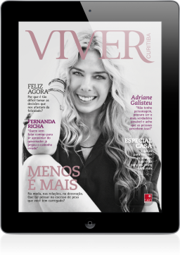 Revista Viver no iPad
