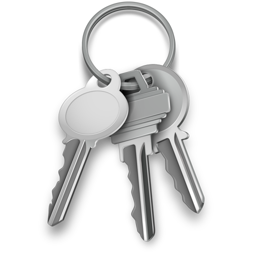 Ícone - Acesso às Chaves (Keychain Access)
