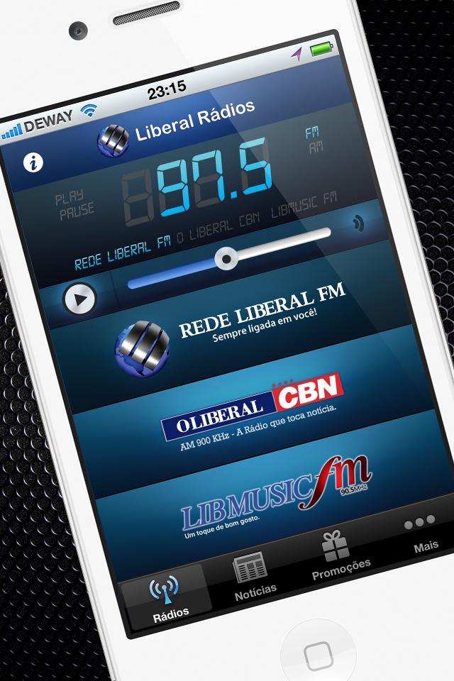 Liberal Rádios - iPhone