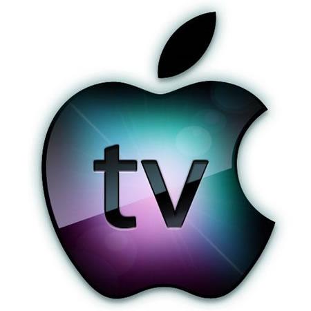 """Logo da Apple com a inscrição """"TV"""""""