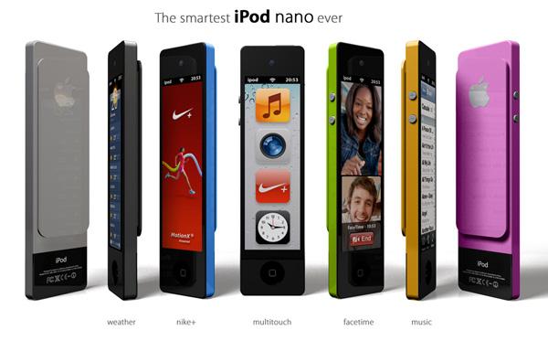 Conceito de iPod nano touch