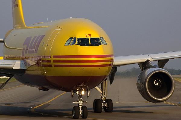 Avião da DHL