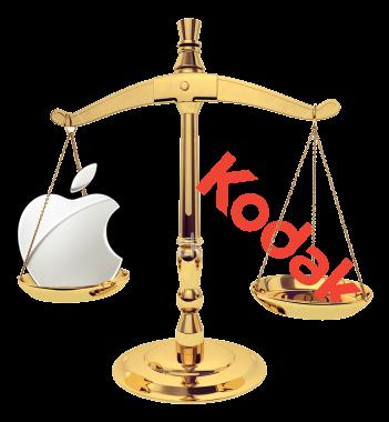 Balança - Apple e Kodak