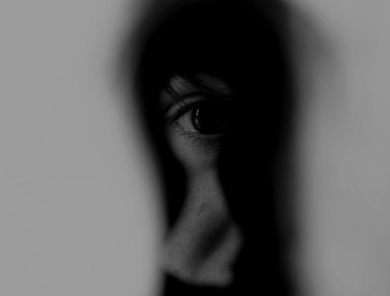 Olho em uma fechadura