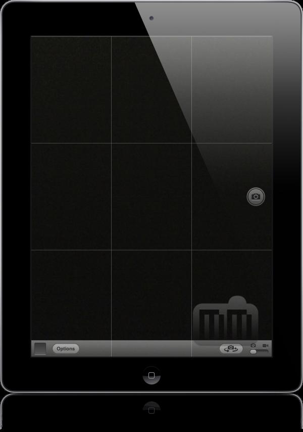 Câmera do iPad no iOS 5.1