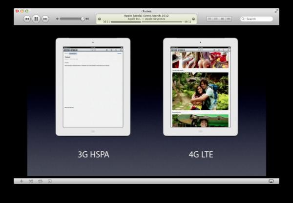 Comparativo de velocidade de download - 3G vs. 4G