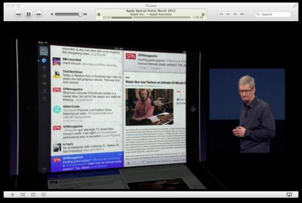 Twitter no iOS (iPad)