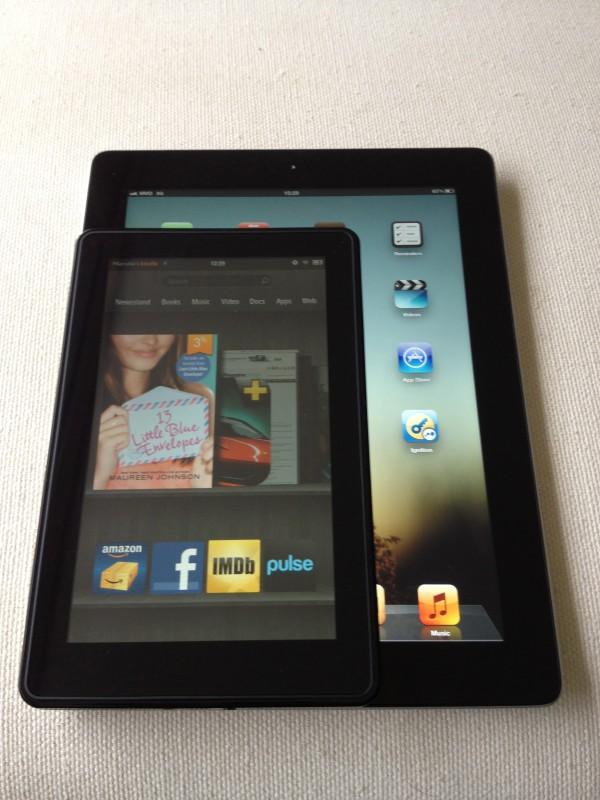 Kindle Fire vs. iPad 3