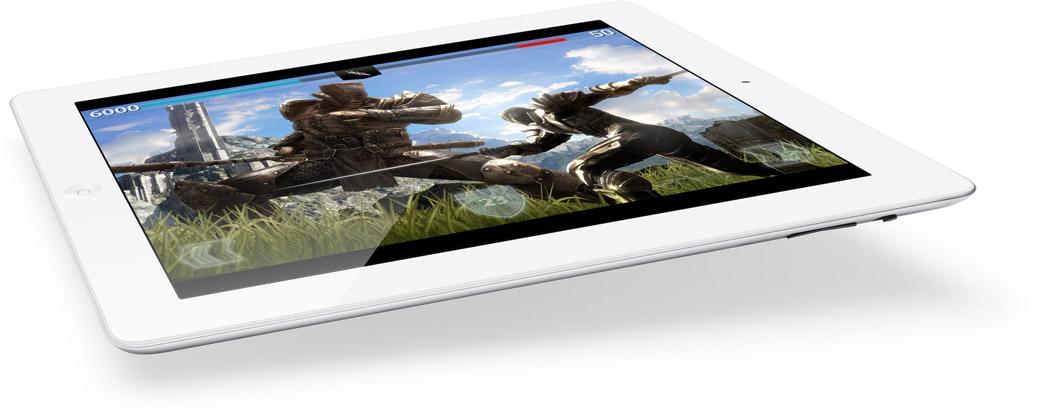 Jogo rodando no novo iPad