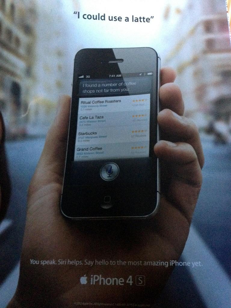 Propaganda da Siri na Rolling Stone