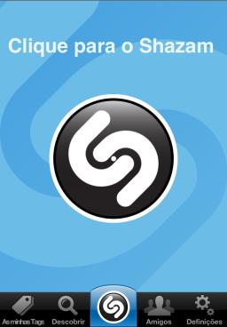 Screenshot do Shazam 5.0