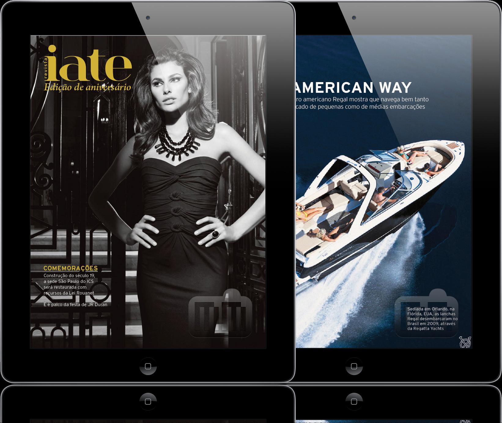 Revista Iate em iPads