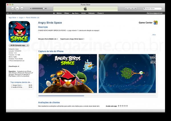 Jogos na App Store brasileira