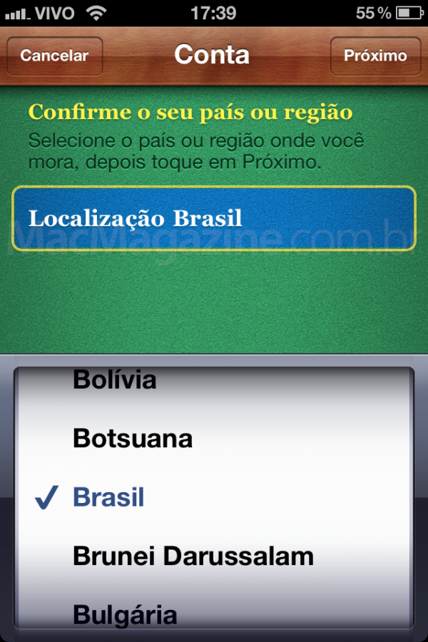 Brasil no Game Center
