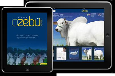 O Zebu no Brasil - iPads
