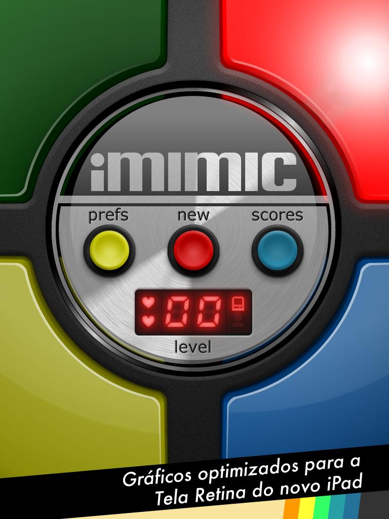 iMimic com gráficos Retina para o iPad