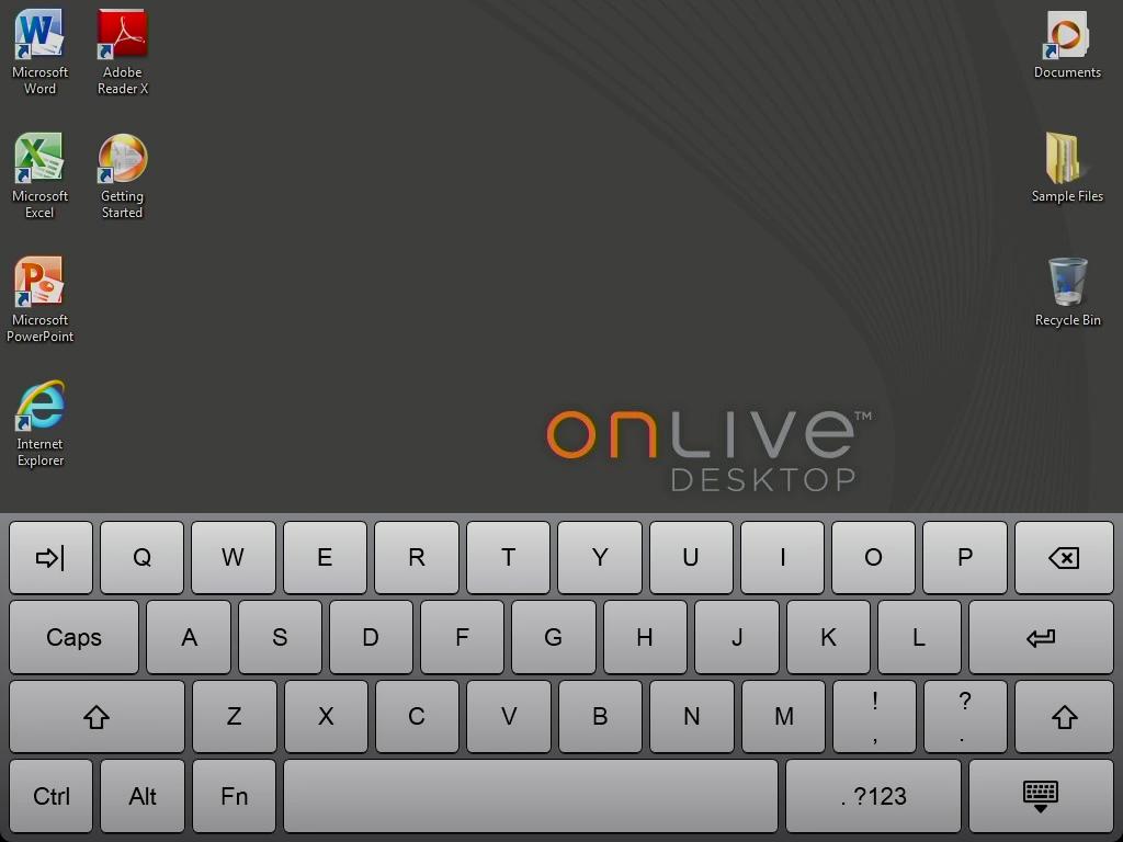 OnLivre com Windows Server 2008