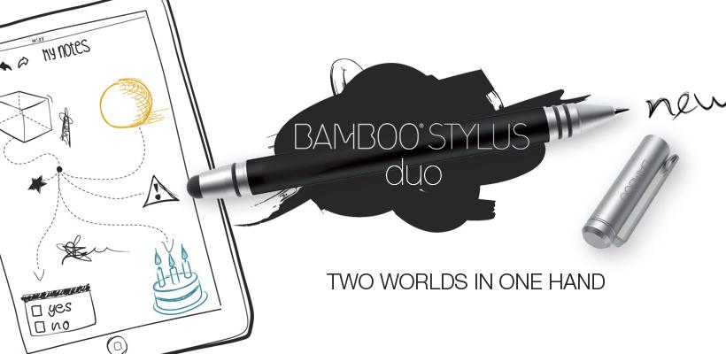 Wacom - Bamboo Stylus duo
