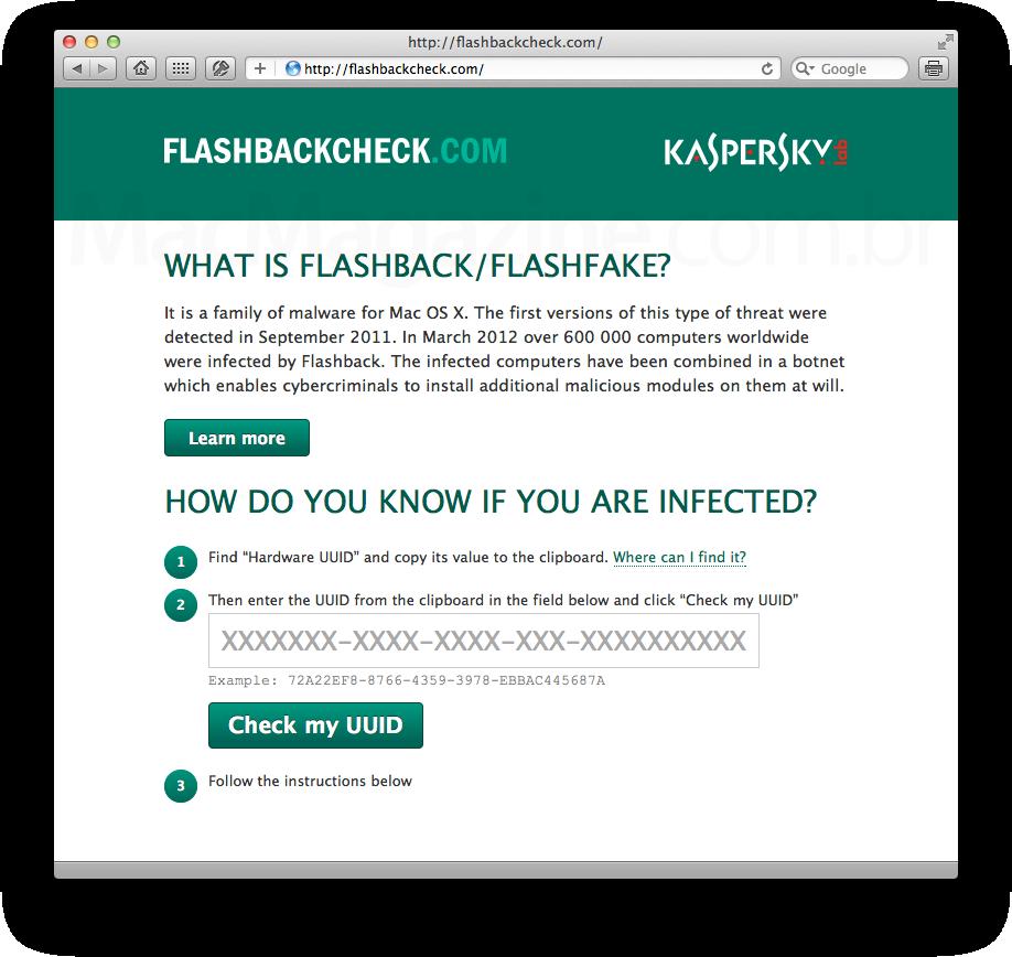 FlashbackCheck.com