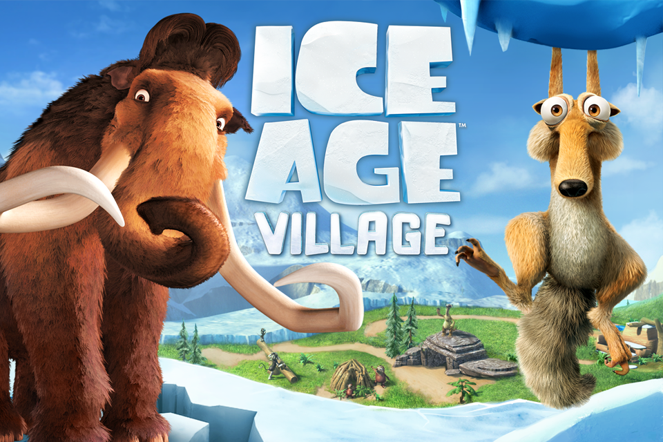 A Era do Gelo: Vilarejo para iOS