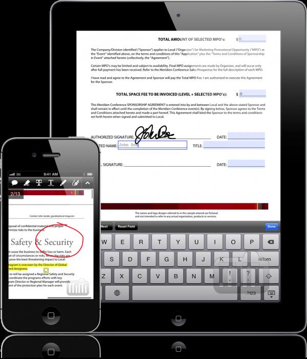 Adobe Reader 10.2 no iPad e iPhone