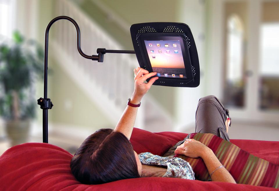 Adjustable Tablet Stand com iPad