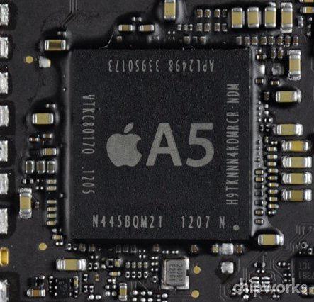 Chip A5 de 32nm do iPad 2