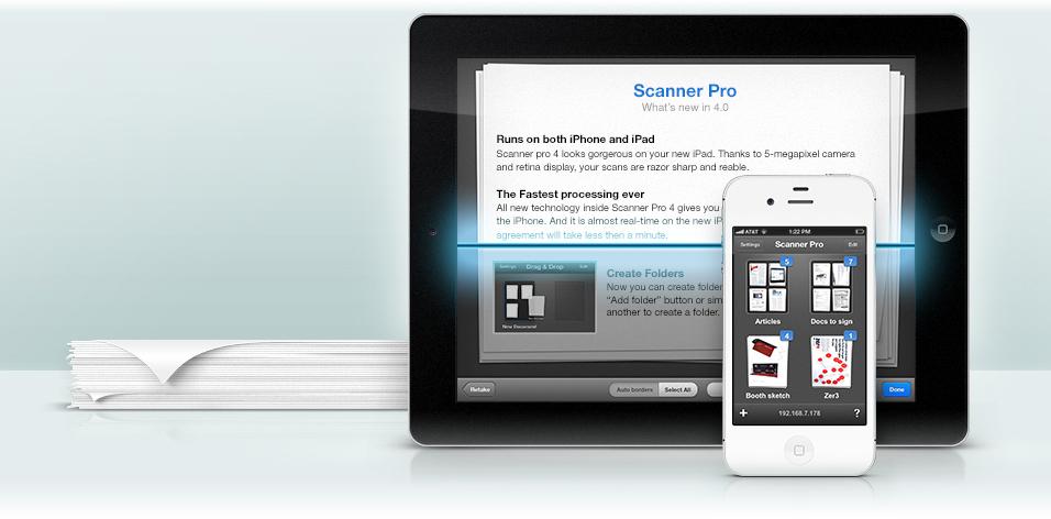 Scanner Pro - iPad e iPhone