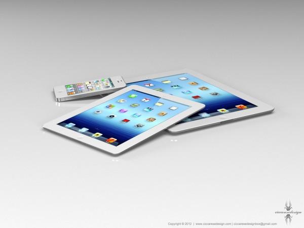 Mockup de iPad mini