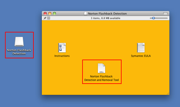 Norton Flashback Detection