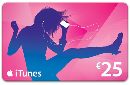 iTunes Gift Card de US$25