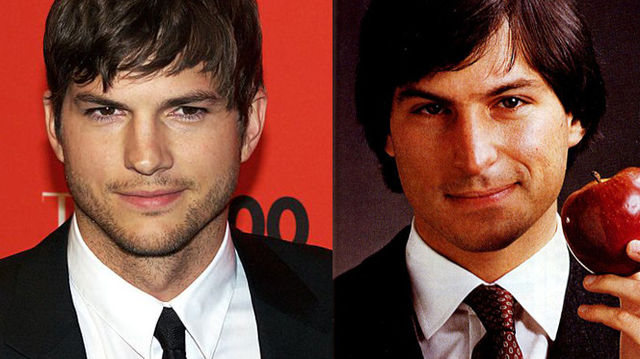 Ashton Kutcher e Steve Jobs