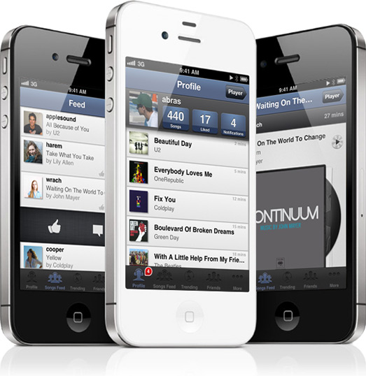 SoundShare em iPhones