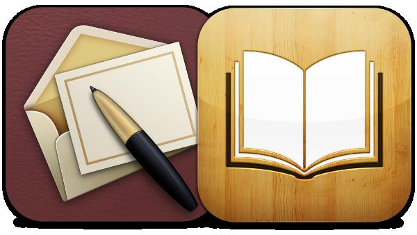 Ícones do Cards e do iBooks
