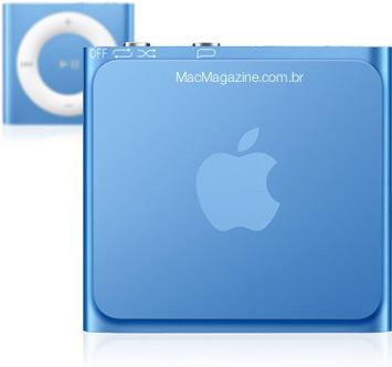 iPod shuffle personalizado pelo MacMagazine