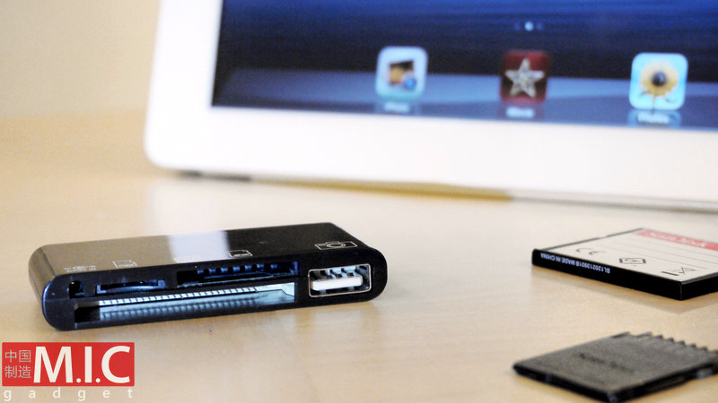 All-in-one Card Reader for iPad