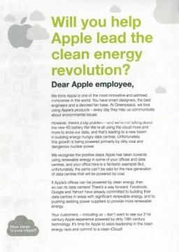 Folheto do Greenpeace