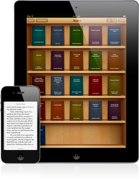 iBooks em iPad e iPhone