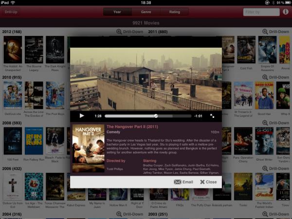 Movies Reference - iPad