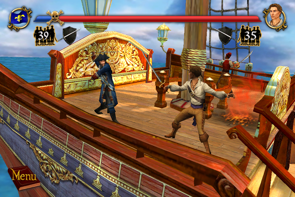 Sid Meier's Pirates! - iPhone