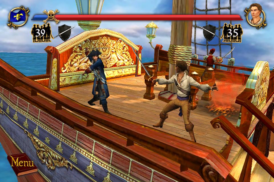 Sid Meier's Pirates! - iPhone