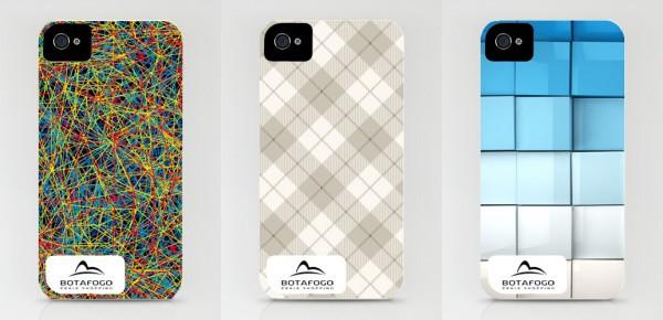 Skins do Botafogo Praia Shopping em iPhones