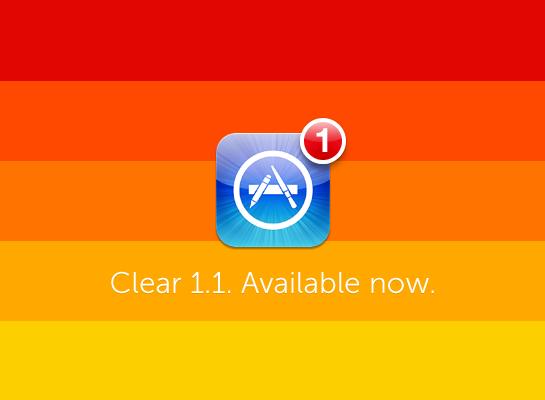 Clear 1.1 disponível
