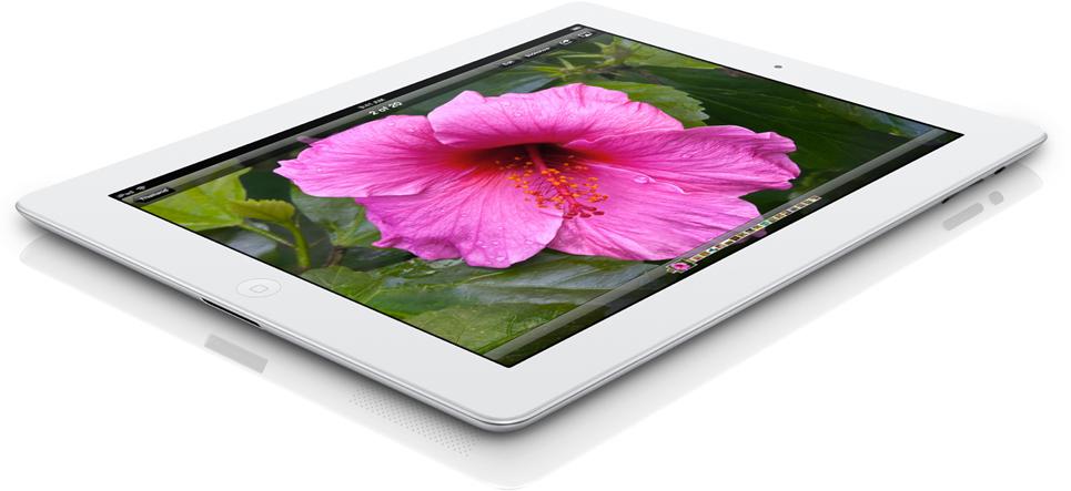 Novo iPad solto