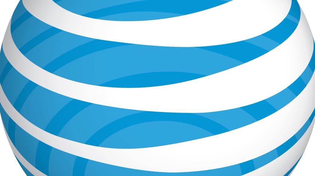 Pedaço do logo da AT&T