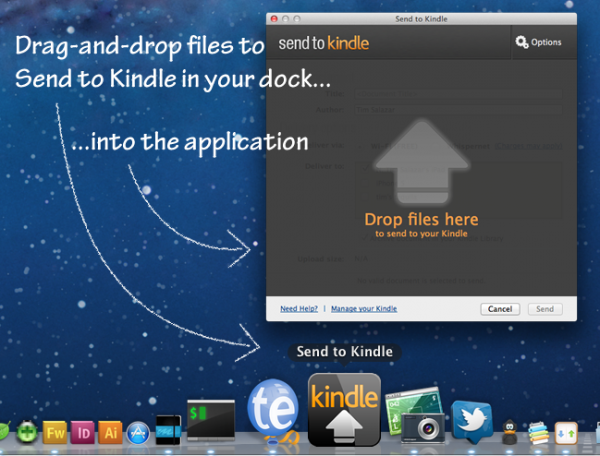 Send to Kindle para Mac