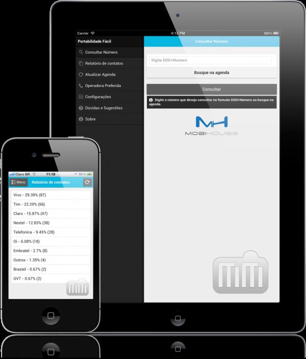 Portabilidade Fácil - iPad e iPhone