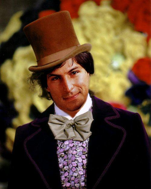 Steve Jobs de Willy Wonka