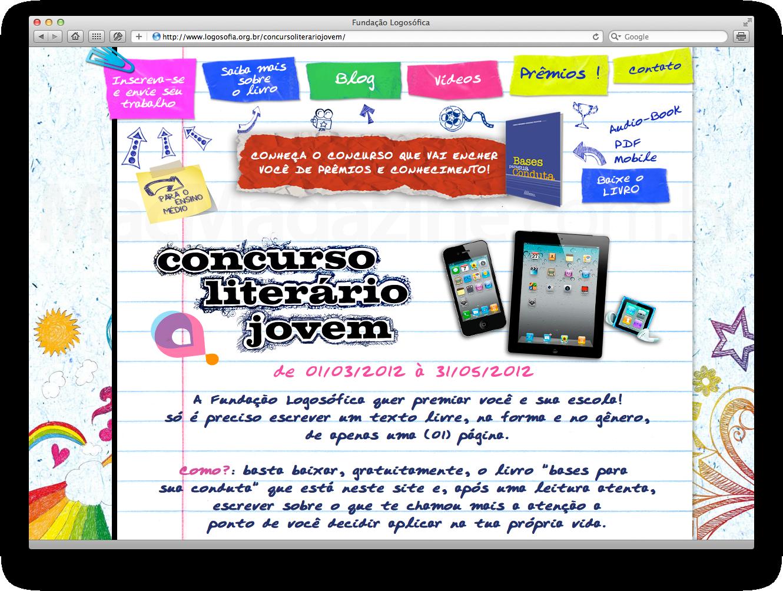Concurso Literário Jovem - Fundação Logosófica