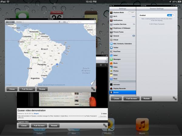 Quasar para iPad